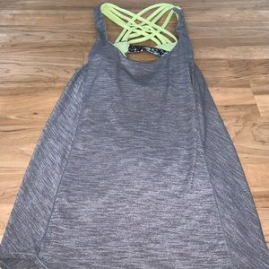 Lululemon tank top with built in sports bra